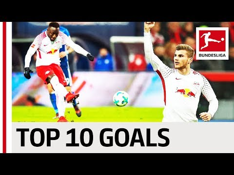 Werner, Keita & More - Top 10 RB Leipzig Goals 2017/18