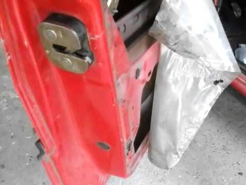 Reparar cambiar arreglar cerradura fiat 1 fire faire for Como reparar un cristal agrietado