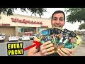 *BUYING AND OPENING EVERY POKEMON CARDS PACK!* You Won't Believe THIS DEAL at WALGREENS!