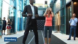 Usain Bolt and Stephanie Ruhle Race: Who