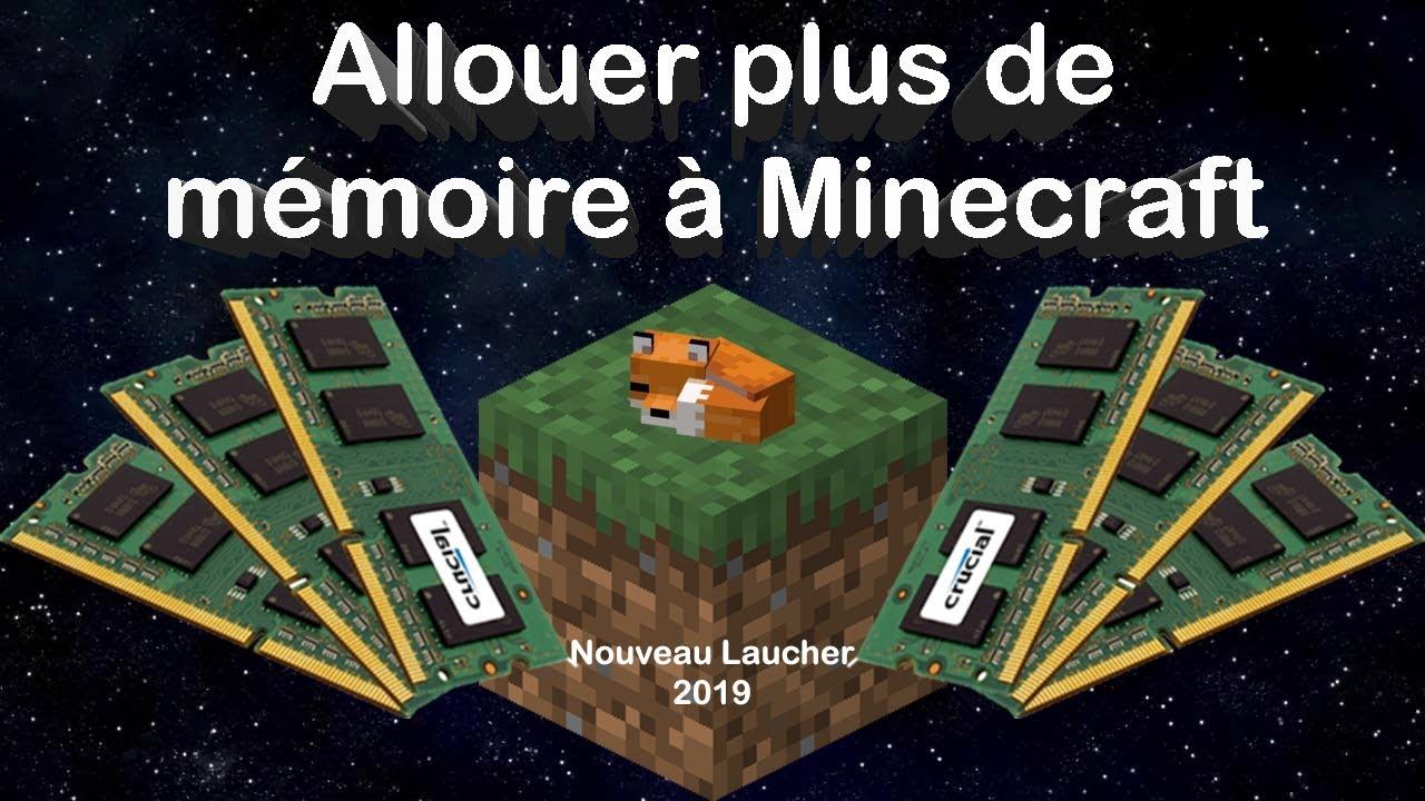Download [TUTO] Allouer plus de RAM à Minecraft | Nouveau launcher 2019/2020