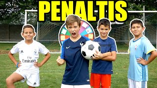 Video RETO DE PENALTIS CON MIS PRIMOS (LA RULETA DECIDE COMO) download MP3, 3GP, MP4, WEBM, AVI, FLV Oktober 2018