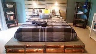 видео Как изготовить кровать из поддонов. Подробный мастер-класс с фото