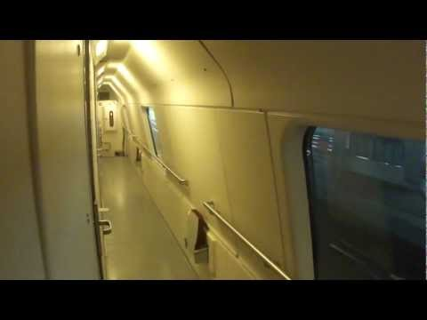 Interior Tour Deluxe Sleeper Car on Finnish Night Train