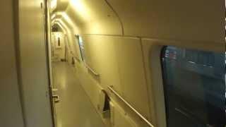 Interior Tour Deluxe Sleeper Car on Finnish Night Train