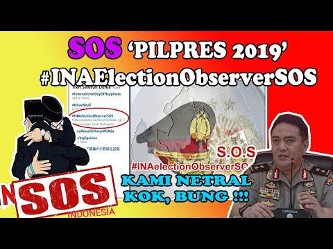 AWASI P0L-RI !! #INAelectionObserverSOS TRENDING TOPIC GAUNG INTERNASIONAL PILPRES 2019