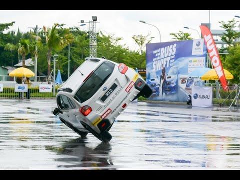 Xe.Tinhte.vn - Trình diễn xe hơi mạo hiểm Russ Swift 2015