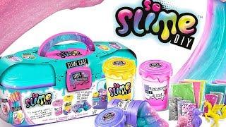 So Slime • Slime Case - zestaw rozszerzony • Biedronka • 3 kolory Slime • DIY