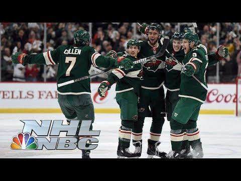 Winnipeg Jets vs. Minnesota Wild I Game 3 I NHL Stanley Cup Playoffs I NBC Sports