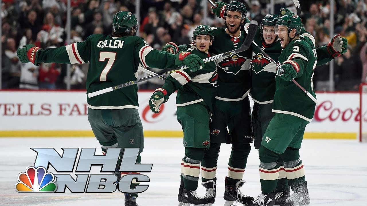 Winnipeg Jets vs. Minnesota Wild I Game 3 I NHL Stanley Cup Playoffs I NBC Sports