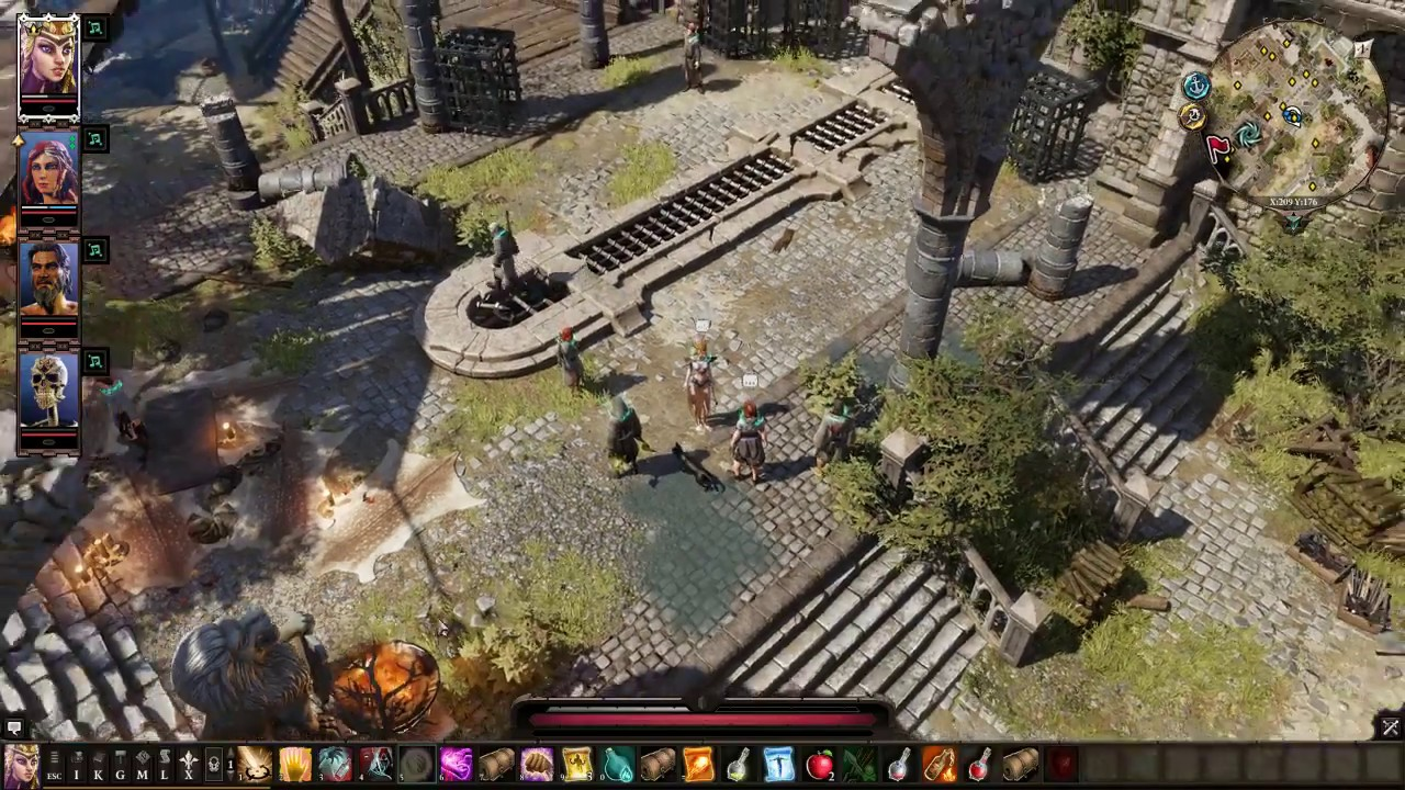 Divinity Original Sin 2 Get Ifan Ben Mzed and Lohse at Fort Joy