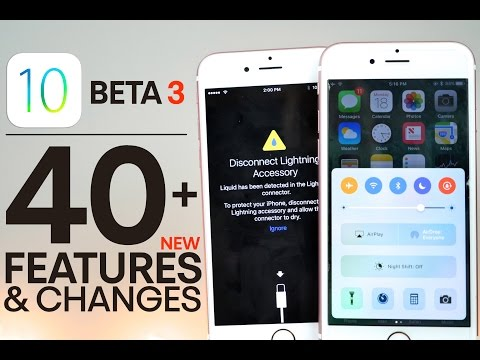 iOS 10 Beta 3 - 40+ New Features & Changes Review!