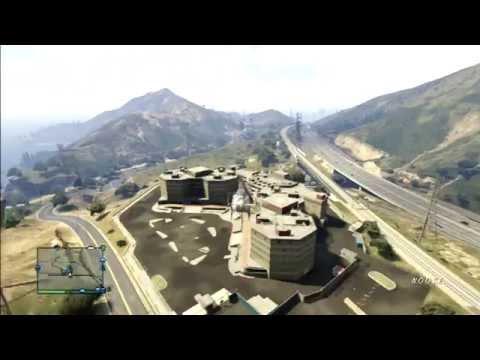 GTA 5 Online - Around the coastline