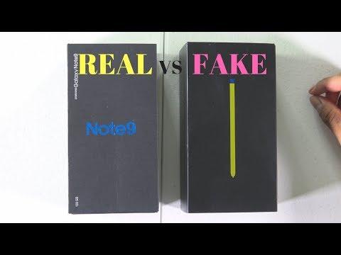 NOTE 9 Fake vs Real (Español)