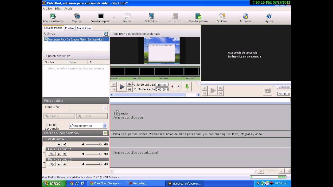 Descargar Editor De Videos [Portable]