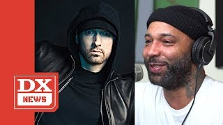 Joe Budden On Eminem's 'Music To Murdered By'  'He Should Stop Dissing Me'