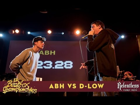 ABH vs D-Low - Solo Final - 2016 UK Beatbox Championships