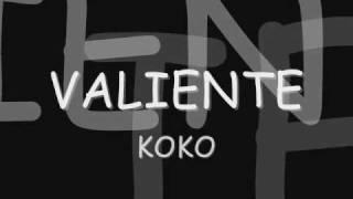 valiente-koko letra thumbnail