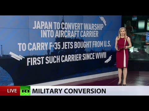 1st time since WW2? Japan reportedly to convert warship into aircraft carrier