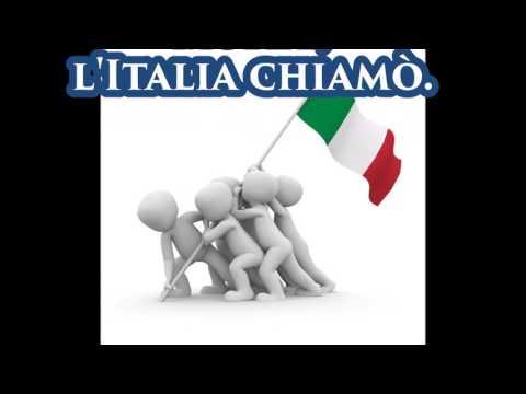 Canto degli italiani - con testo
