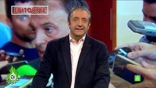 """Josep Pedrerol: """"Tebas, tú sí que mereces un homenaje... ¡en El Club de la Comedia!"""""""