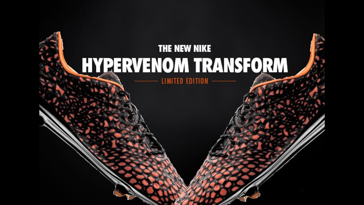 ed4df48f4 ... New Nike Hypervenom Transform - LIMITED EDITION