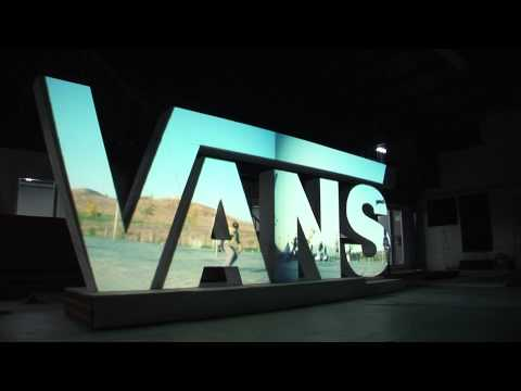 Vans Video Mapping Projection On 3d Surface Skate Amp Fire