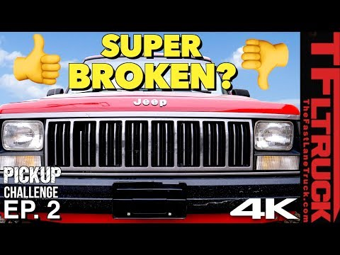 This Sucks - Our Jeep Comanche is Very Broken & the Budget is Blown | Cheap Jeep Challenge S2 Ep. 2