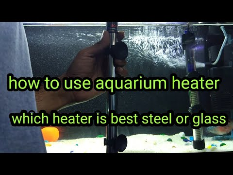 How To Use Aquarium Heater