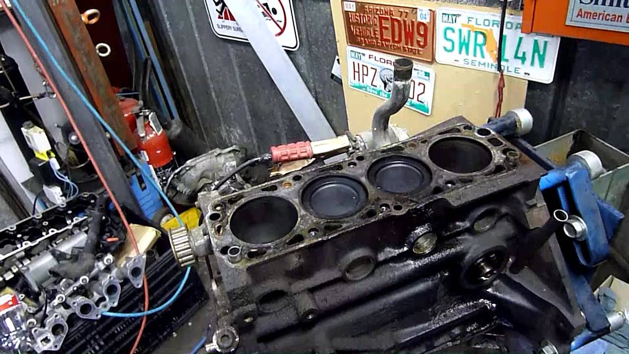 Daewoo Lanos  Gm Family 1  Engine Autopsy Pt5 Head And Oil Pump