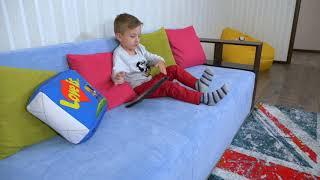 Давид РЕШИЛ ПОВТОРИТЬ Странный ЧЕЛЛЕНДЖ! Для Детей Kids Children