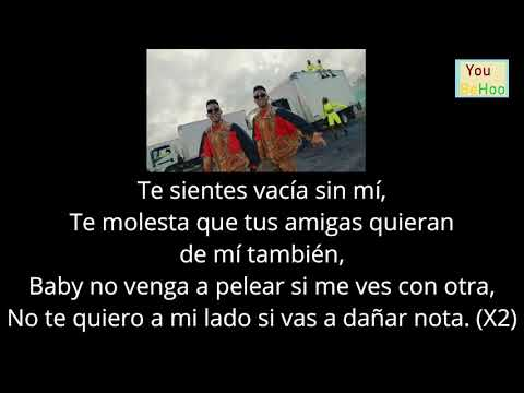 LYRICS - Ozuna - Vacía Sin Mí feat. Darell (Video Oficial) - LETRA