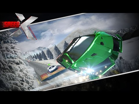 SPEED X - UNSTOPPABLE Official Android Game Trailer Full HD