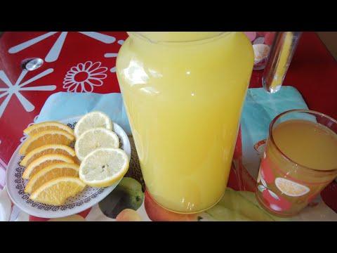 Апельсиновый сок. Много и Полезней чем в тетрапаке с магазина .Очень Вкусный и Ароматный!