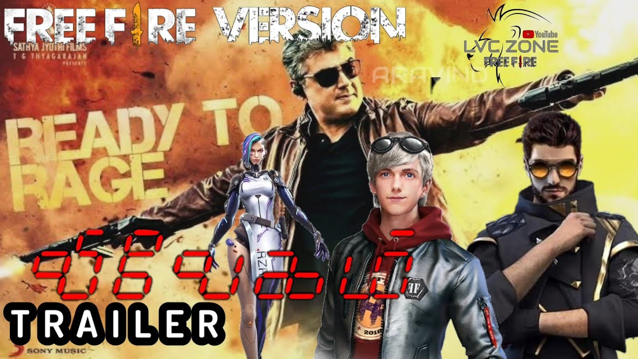 Download Vivegam trailer tamil | Free Fire Version | free fire trailer in tamil | thala ajith | LVC ZONE |