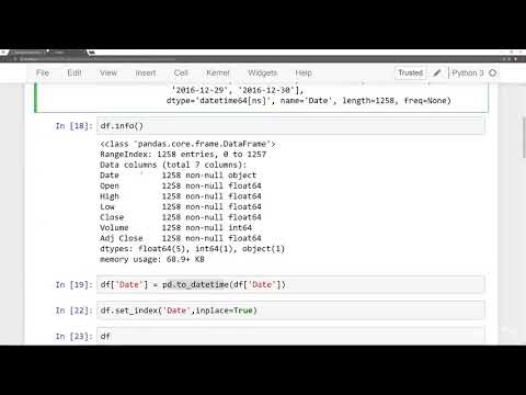 Python for Financial Analysis and Algorithmic Trading : Time Resampling
