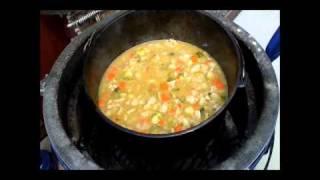 Turkey Brussel Sprout Soup.wmv