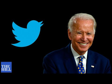 Biden answers questions from social media
