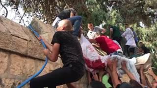 فيديو: تهريب جثمان شهيد من مستشفى بالقدس حتى لا تختطفه اسرائيل