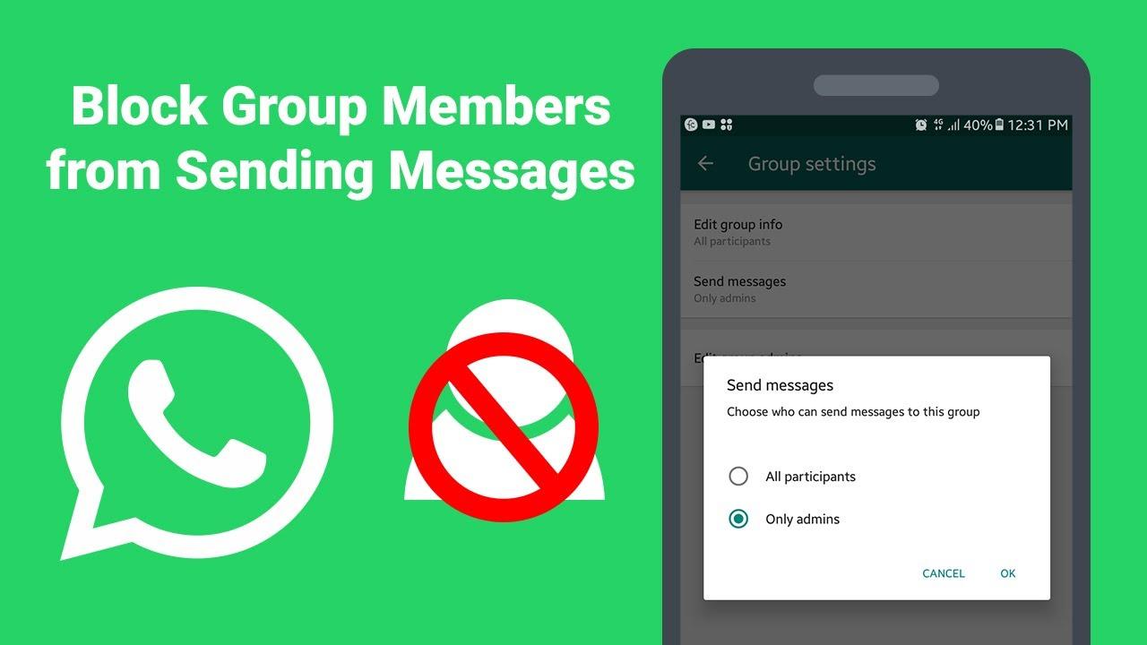 Whatsapp Block Group Invite - GWS Online GH