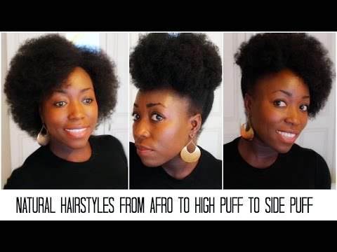 natural-hairstyles-from-afro-to-high-puff-to-side-puff-tutorial-on-4c-medium-length-hair-updo