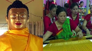 Buddhists celebrate 'Kathin Chibor Dan' festival in Agartala