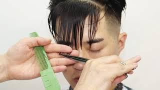 코리아나호텔 바버샵(Koreana Hotel Barber Shop) 슬릭백 스타일