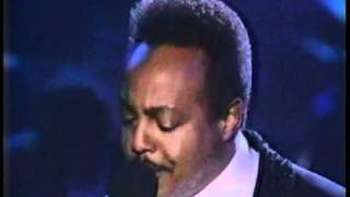"Peabo Bryson Arsenio Hall Show ""Can You Stop The Rain"""