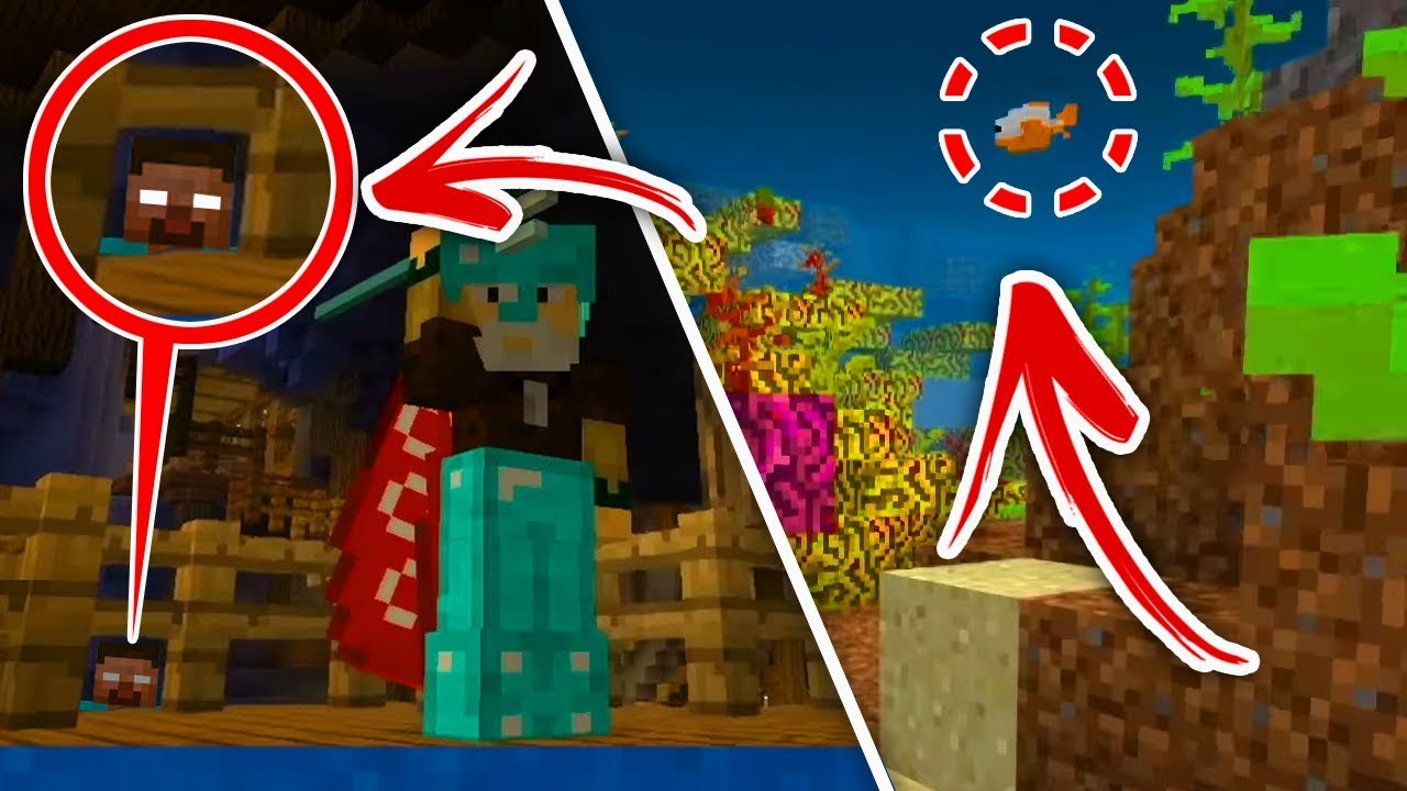 Minecraft : 5 SECRET Things Coming To Aquatic Update  (Ps3/Xbox360/PS4/XboxOne/WiiU)