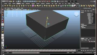 Autodesk Maya 2011 Basics Tutorial Part 1