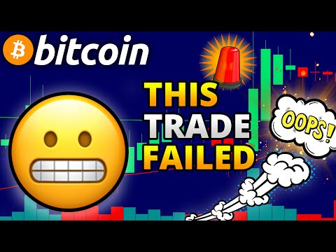 Daily Crypto Technical Analysis: LOSING Trade On Bitcoin?! // Bitcoin & Ethereum Price Prediction