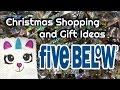 Christmas Shopping & Gift Ideas - Five Below (Follow Me Around)