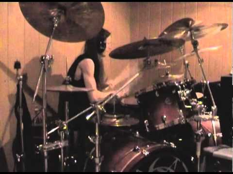THE WRETCHED END drum audition with Dominator