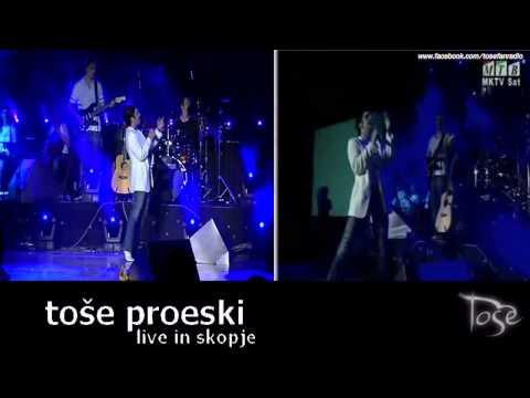 TOSE PROESKI - CIJA SI (DVD I TV) (SKOPJE 29/06/2004)